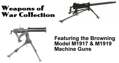 Product picture Browning Model 1917 and 1919 Machine Gun Manuals