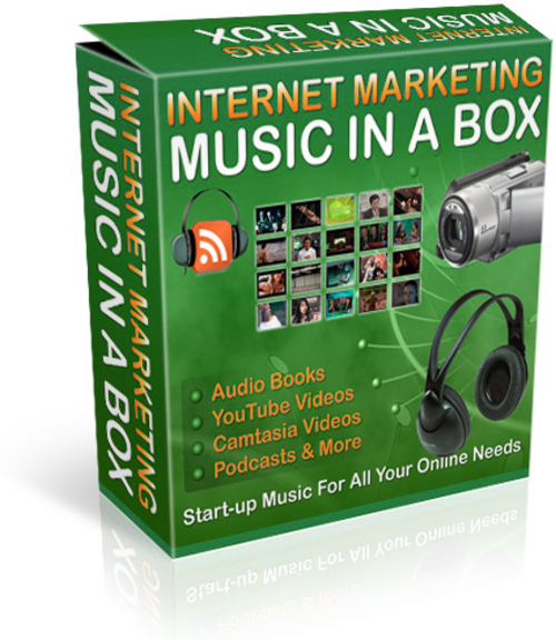 Product picture Professional Marketing Music w/ Resell Marketing Kit