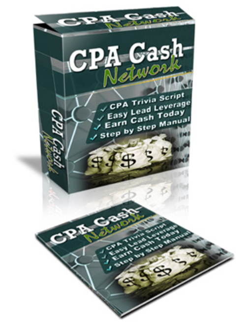 Product picture Untold Secrets:  The Booming Business Of CPA Cash Network!  + MRR