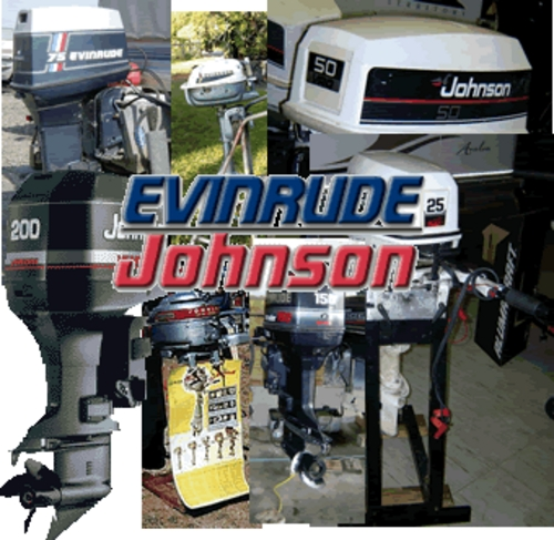 Product picture Johnson Evinrude Outboard Repair Manual 1958 thru 2001