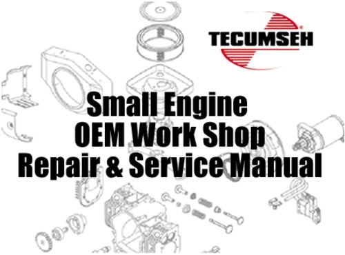 Product picture Tecumseh Small Engine Master Service & Repair Manual Set