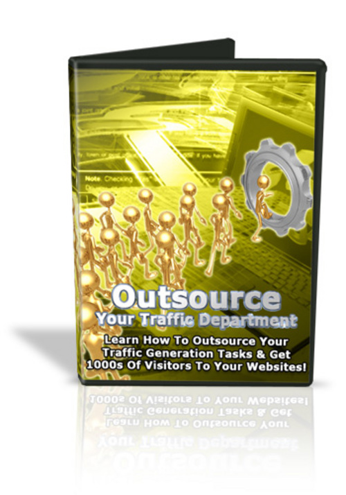 Product picture Learn the Secrets of Outsourcing for Massive Traffic!