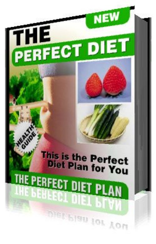 Product picture The Perfect Diet eBook Marketing Kit