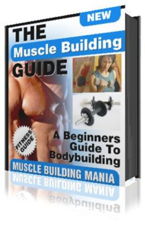 Product picture Muscle Building Guide eBook Marketing Kit