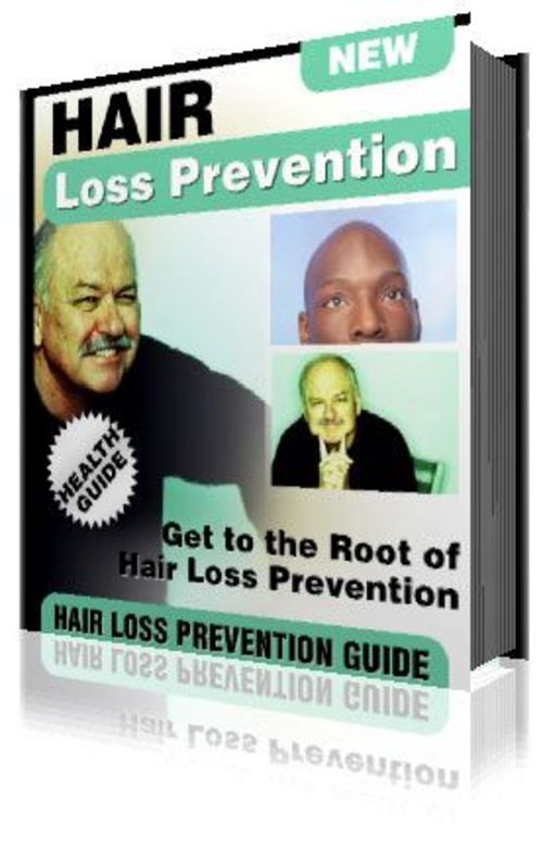Product picture Hair Loss Prevention Guide eBook Marketing Kit