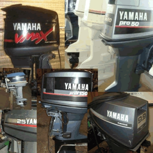 Product picture YAMAHA OUTBOARD 2HP-250HP SHOP REPAIR MANUAL Model Years 198